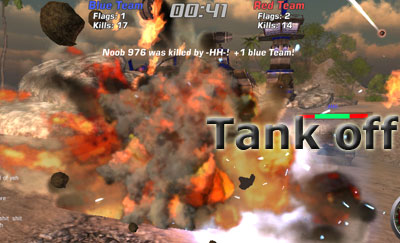 Tank off arena