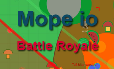 Mope io Battle Royale