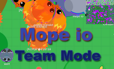 Mope io Team Mode